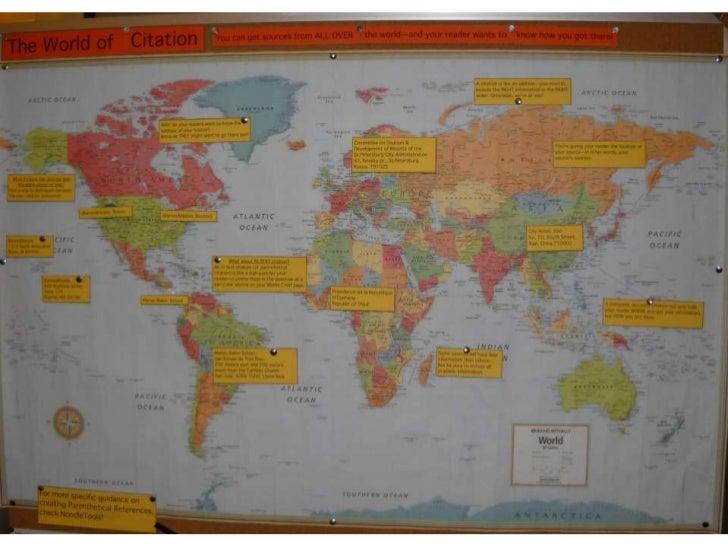 World of citation