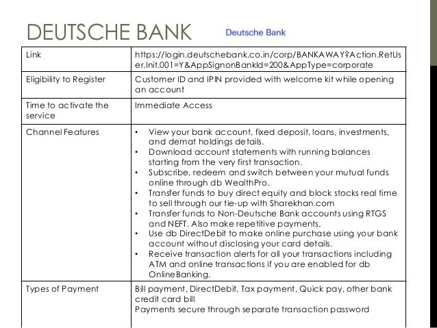 Bank Wire Transfer Deutsch