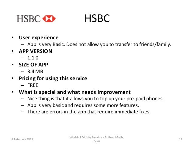 World of mobile banking