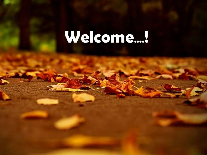 Welcome....!<br />