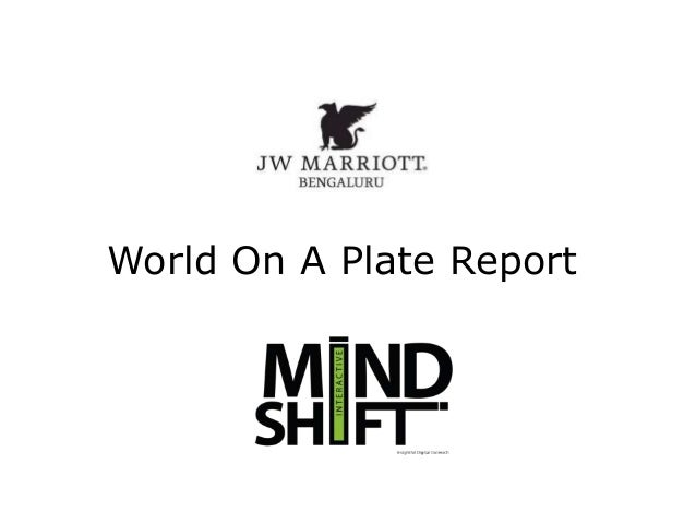 World On A Plate Report