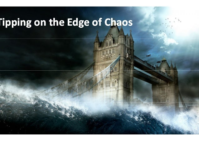 Tipping on the Edge of Chaos