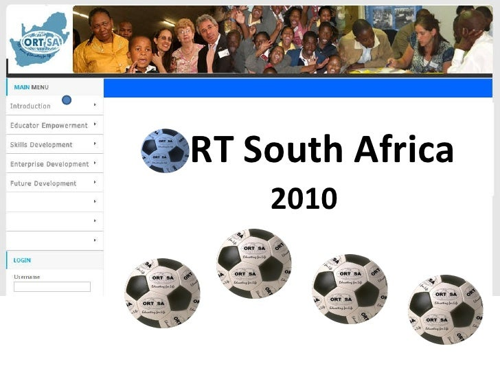 O RT South Africa <ul><li>2010 </li></ul>