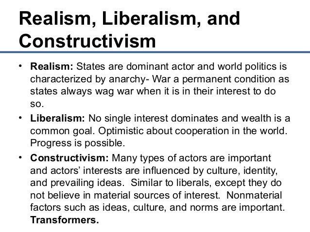 Liberalism and World Politics