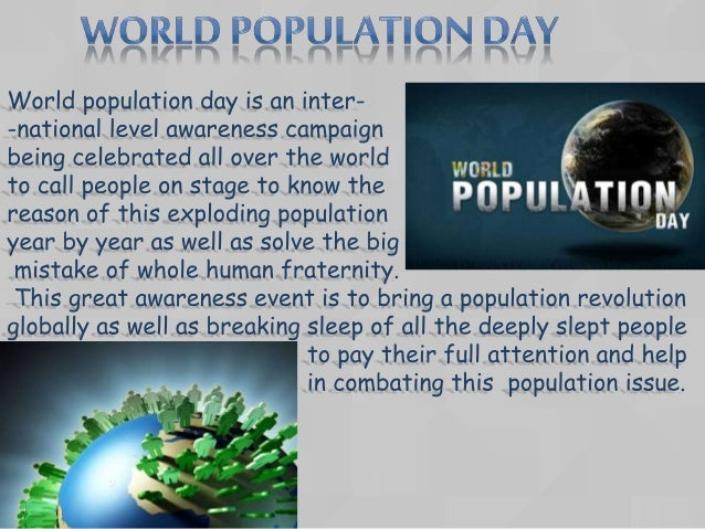 World Population Day Report