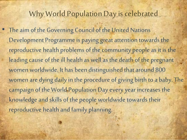 world population day populationgrowth 4