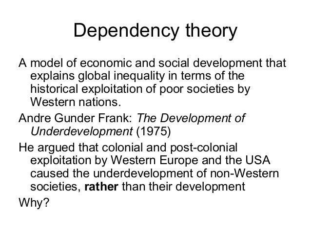 postcolonial dependency Post-colonial studies  post-colonial studies the key concepts second edition bill ashcroft,gareth griffiths and helen tiffin first published 2000 by routledge 2 park square, milton park,  dependency theory and centre–periphery models – were unable to explain the multi.