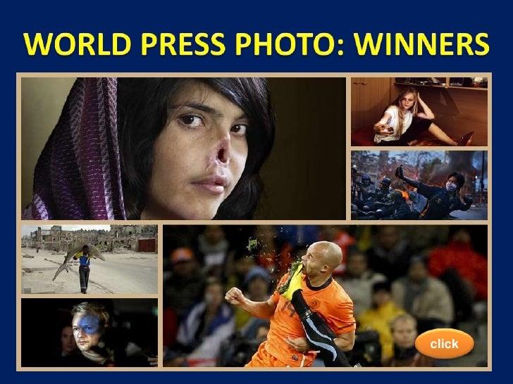 World Press Photo: winners<br />WORLD PRESS PHOTO: WINNERS<br />click<br />