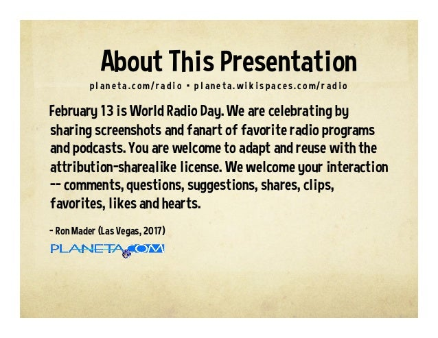 World Radio Day Slide 2
