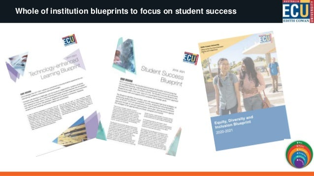 Student Success: Intentional, strength based, whole of institution approach
