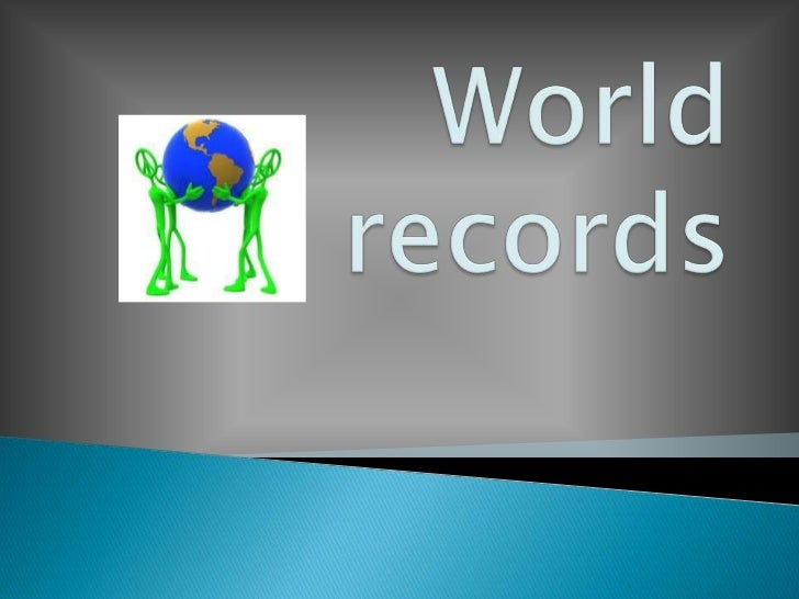 World records<br />