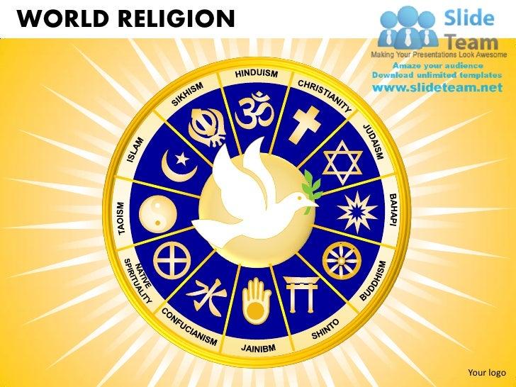 World Religion Powerpoint Presentation Slides Ppt Templates