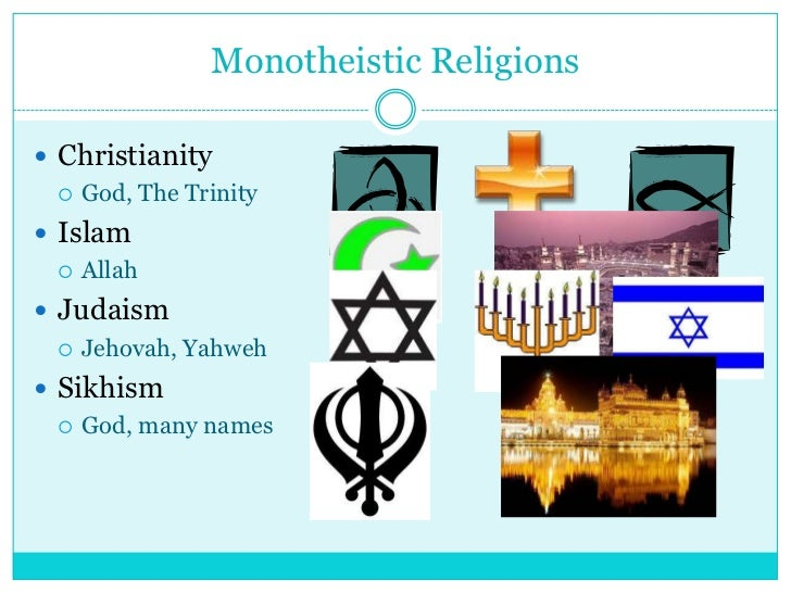 World Religions - List of different religions in the world