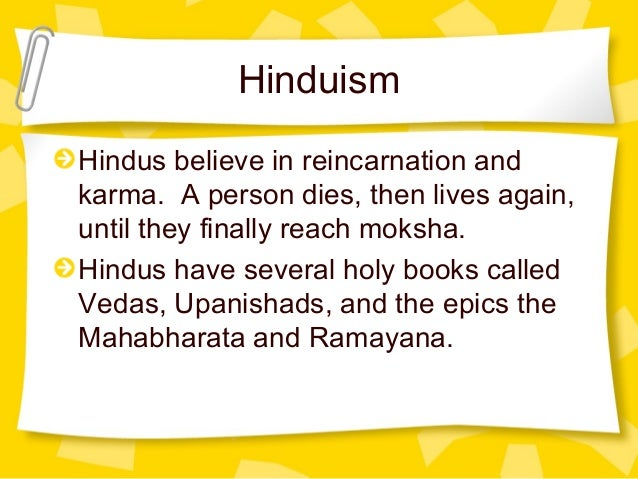Religion that believes in reincarnation