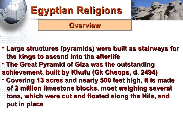 religious beliefs of the egyptians essay Essay the egyptian religion the egyptians had a very influential religion that can be analyzed using the five elements of religion the characteristics of the ancient egyptian's religion can be divided into the five elements of religion: authority, faith, rituals, moral code, and concept of the deity.