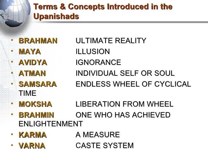 brahman atman and their relationship to moksha definition