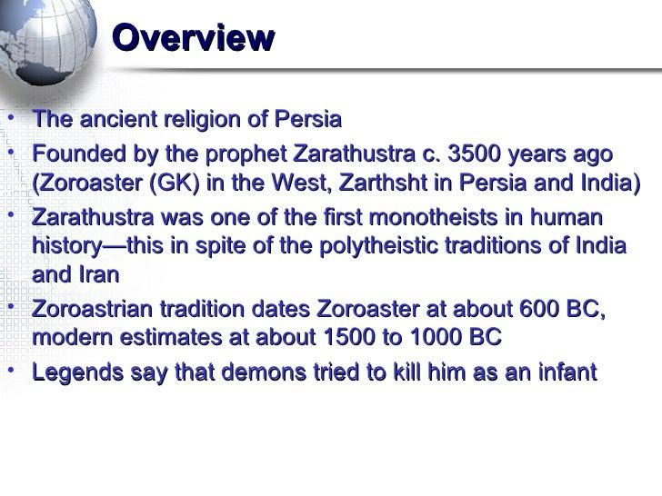 zoroastrianism world religions
