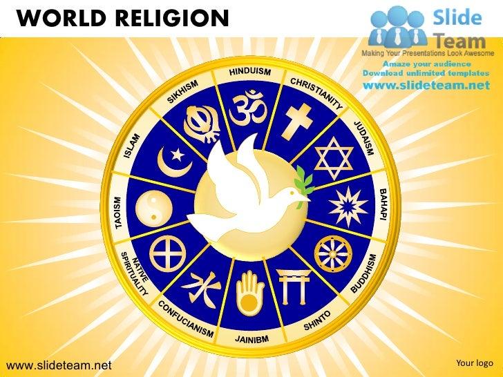 WORLD RELIGIONwww.slideteam.net   Your logo