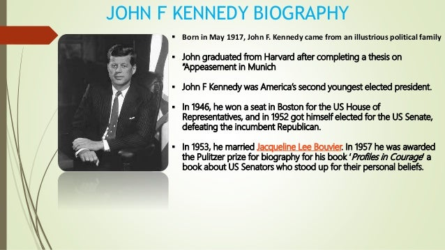 the politically courageous men as portrayed in john f kennedys book profiles in courage We're going to have to have the courage and the presence of  they told of red-haired men and women of light  (a book authored by noted creationists john.