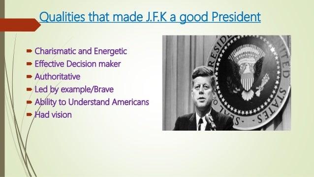 jfk leadership style