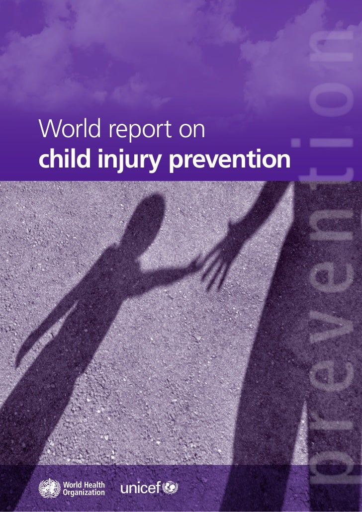 World report onchild injury prevention