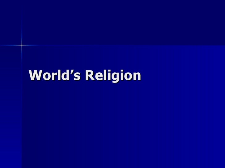 World's Religion