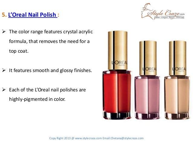 6 5 LOreal Nail Polish