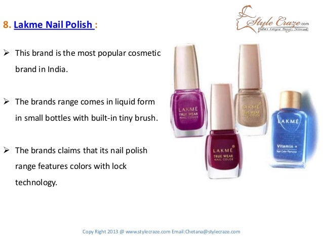 Worlds 10 Best Nail Polish Brands