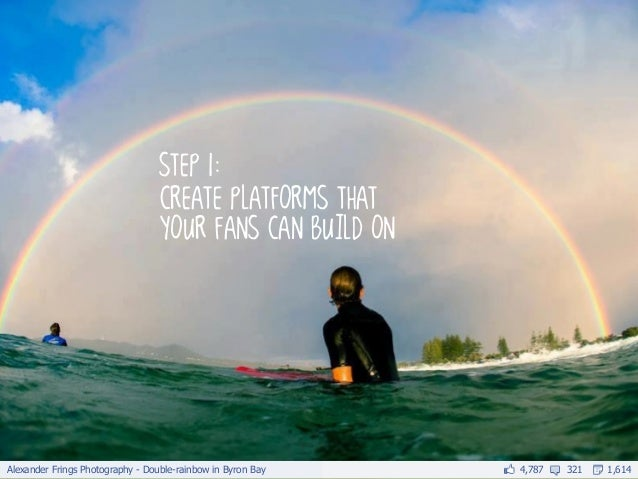 Alexander Frings Photography - Double-rainbow in Byron Bay   4,787   321   1,614                                  step 1: ...
