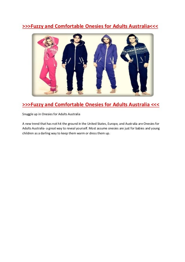 >>>Fuzzy and Comfortable Onesies for Adults Australia<<<>>>Fuzzy and Comfortable Onesies for Adults Australia <<<Snuggle u...