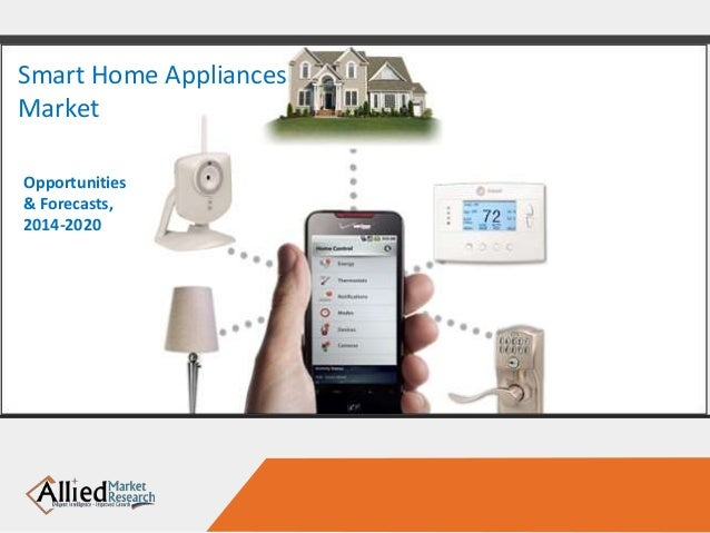 Smart Home Appliances Market Opportunities & Forecasts, 2014-2020