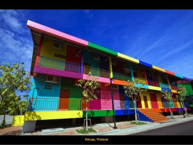 World's Most Colorful Cities