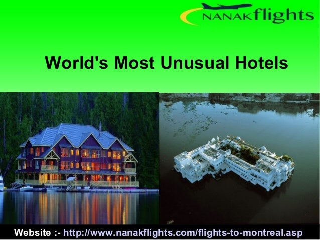 World 39 s most unusual hotels for 10 unique hotels around the world