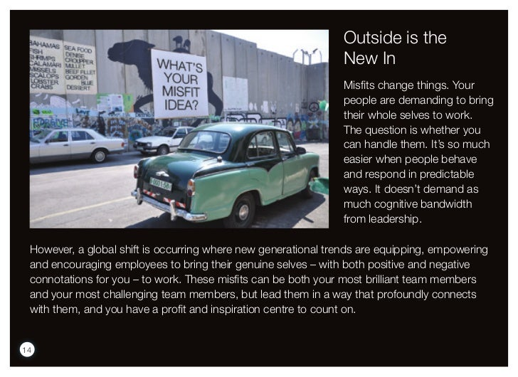 Outside is the                                                               New In                                       ...