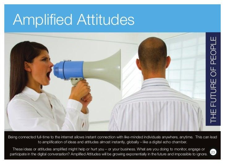 Amplified Attitudes                                                                                                       ...