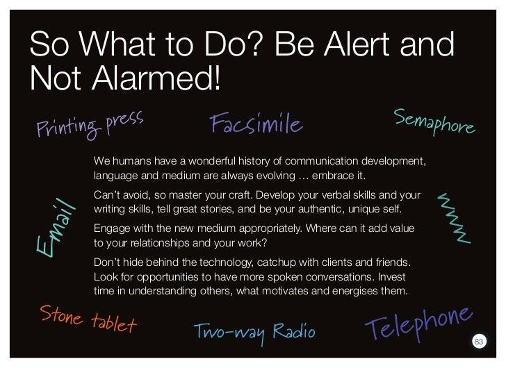 So What to Do? Be Alert andNot Alarmed!                                                                        Semapho Pri...