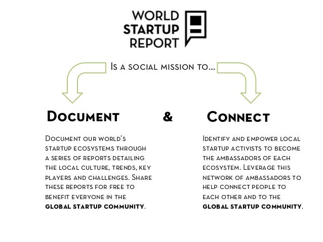 Is a social mission to…Document                         &     ConnectDocument our world's                  Identify and em...