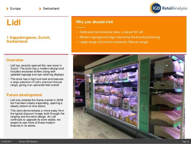 World stores to be visited 2018, IGD Guide