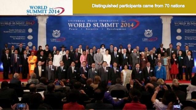 World Summit 2014 Slide 2
