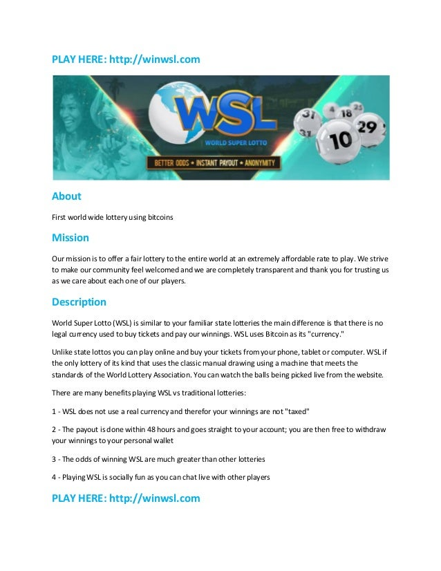 World Lotto Online