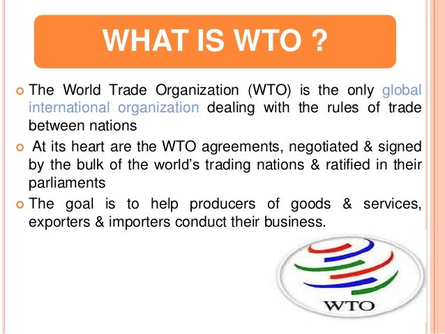 wto and its impact on international Thapa, bikash, world trade organization and its impact to nepal (june 7, 2010) available at ssrn: international trade ejournal.