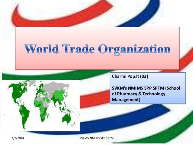 Charmi Popat (03) SVKM's NMIMS SPP SPTM (School of Pharmacy & Technology Management)  2/3/2014  SVKM's NMIMS SPP SPTM  1