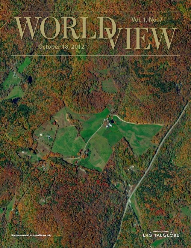 WORLD     VIEW             October 18, 2012                                         Vol. 1, No. 7Non-commercial, non-media...