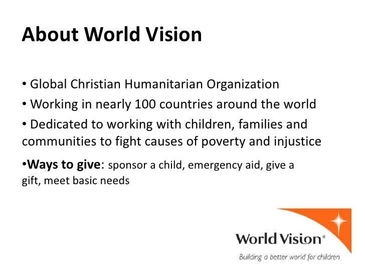 World Vision Presentation
