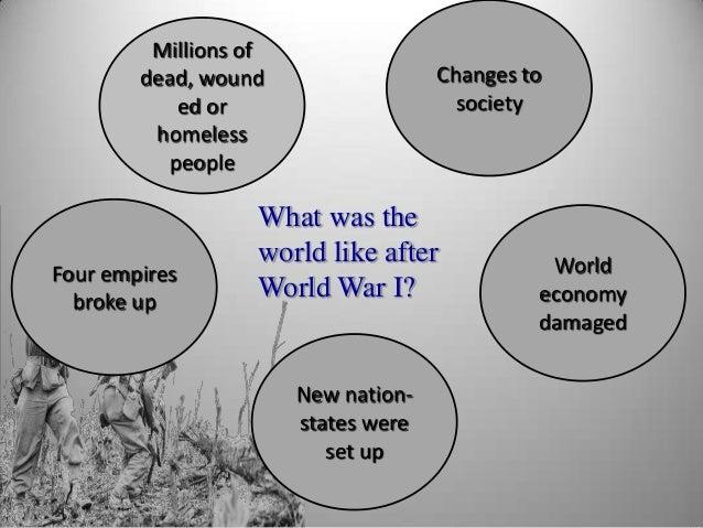 World war 1 & 2 & their effects on international business