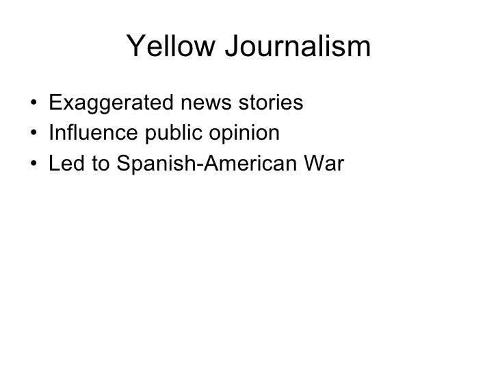 yellow journalism impact on the relationship Start studying chapter 10 learn vocabulary yellow journalism and its impact how radio altered the relationship between politicians and their constituents.