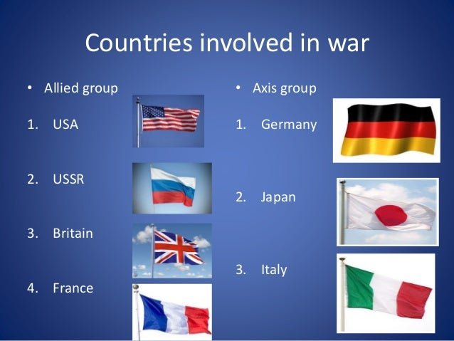 why did america become involved in wwi essay World war ii the united states did not enter the war until after the japanese bombed the america, he declared, must become the great arsenal of democracy.