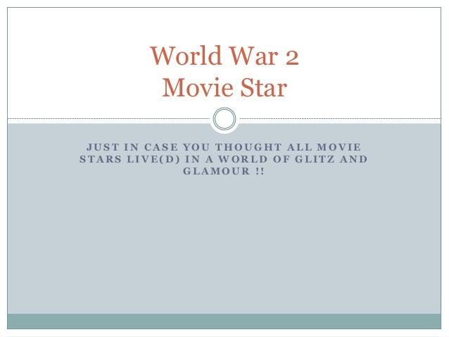 Movie stars of world war 1