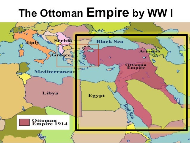 Nations that formed after the collapse of the Ottoman Empire