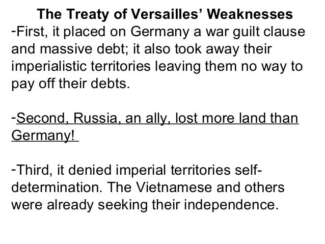 Opposition to the Treaty -Many in the USA strongly opposed the treaty. It did not stop imperialism, which meant nations ma...